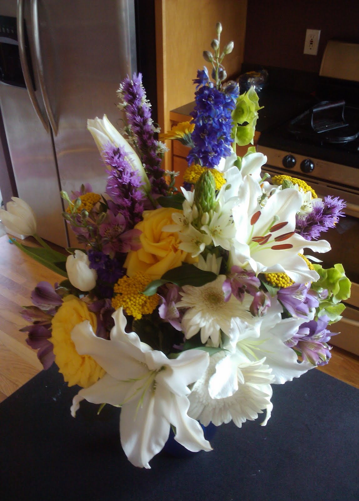 Naturally Sidetracked Lovely Birthday Flowers And Cake