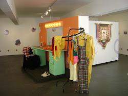 Aspecto da exposição: o Camarim do Zaca em Sete Lagoas