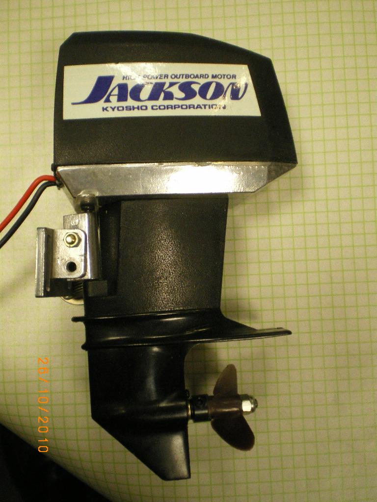 RC-Modellbau: Modell-Außenborder-Elektro