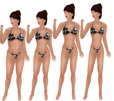 Breast Size Comparison Photos http://ccslfashionista.blogspot.com/2009/05/shape-comparison-gracie-ified-cc-post.html