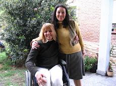 Con Amalia Dolinsky, Asesora Técnica Legal del Ministerio de Salud Pública de la Provincia de Chaco