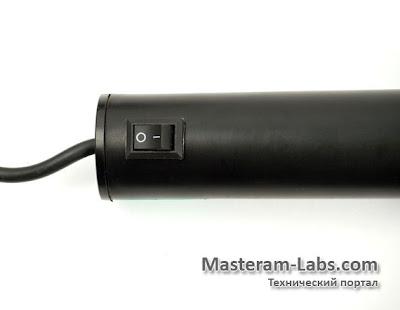Органы управления термофена Pro'sKit SS-601F