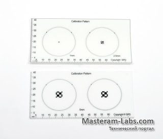 Калибровочная шкала цифрового USB-микроскопа Microsafe 2,0 MPx