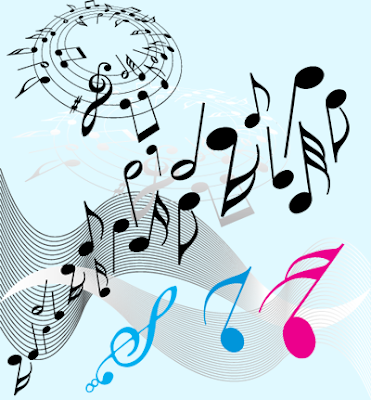Free Music Music on Music Vector Design Elements With Notelines And Keynotes