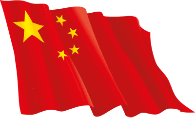 3d china flag"