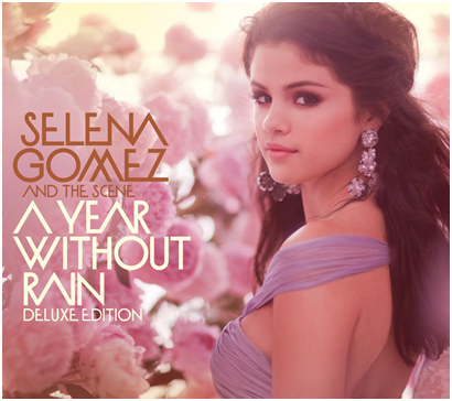 selena gomez and the scene a year without rain album cover. A Year Without Rain