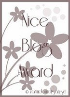 Nice blogg award