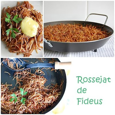 Spanish recipes by nria spanish recipes in english great food rossejat de fideus toasted noodles a daring translation forumfinder Image collections