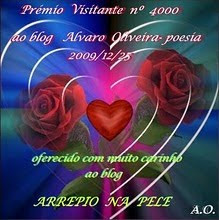 Selo Especial do amigo Alvaro Oliveira