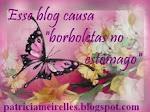 """Esse blog causa """"borboletas no estõmago"""""""