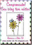 Selo seu blog tem néctar.