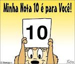 Selo Nota 10 - Obrigado amiga.