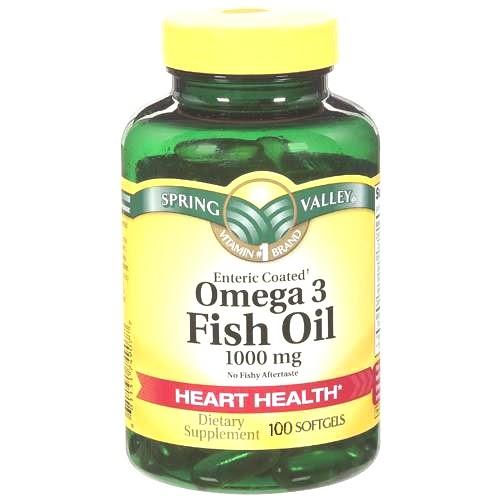 Nutricion light spring valley el pescado omega 3 de for Spring valley fish oil 1200 mg