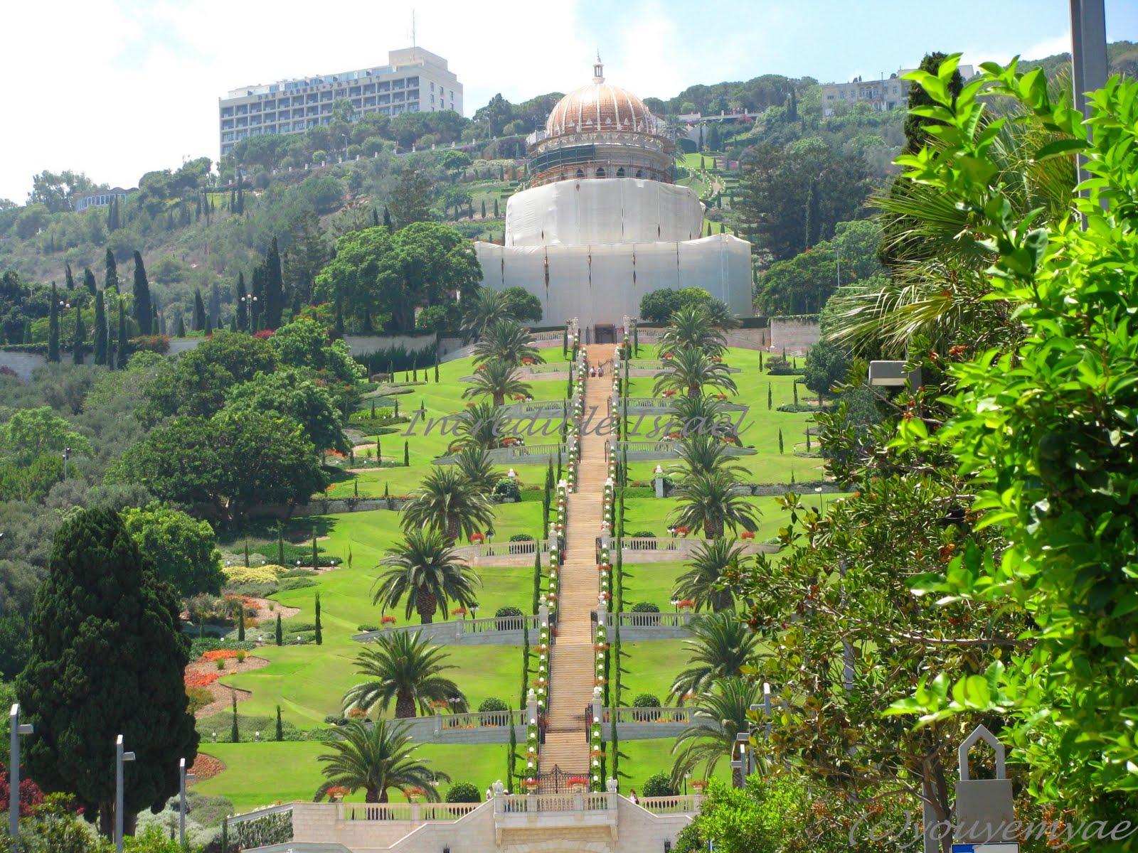 incredible israel bahai gardens