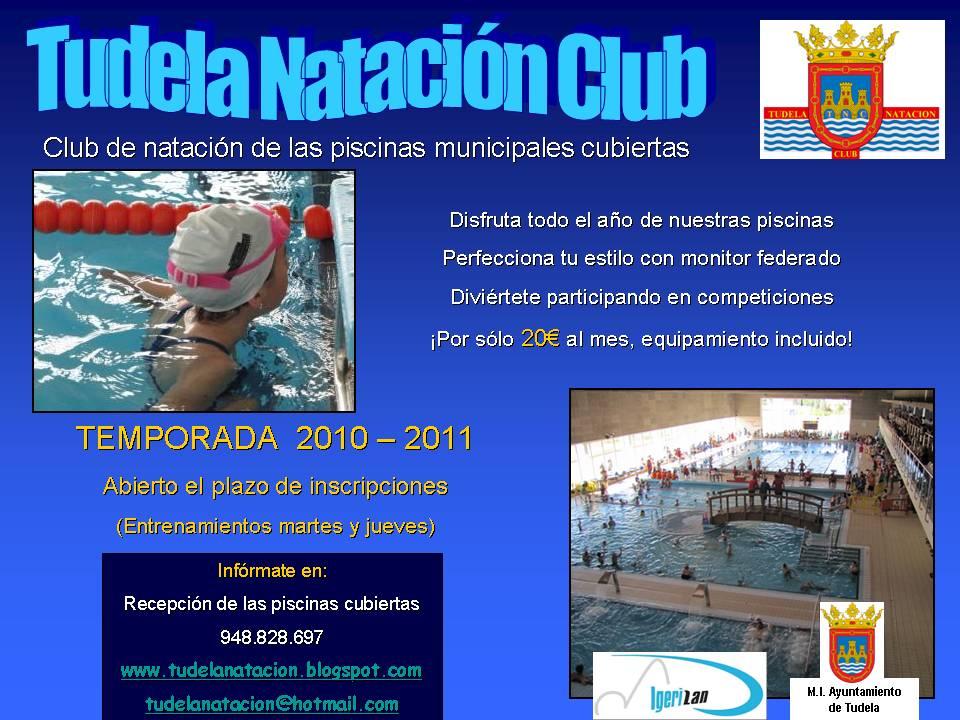 Tudela natacion club for Piscinas cubiertas tudela