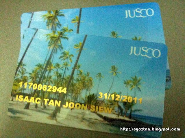 Jaya Jusco Membership Card