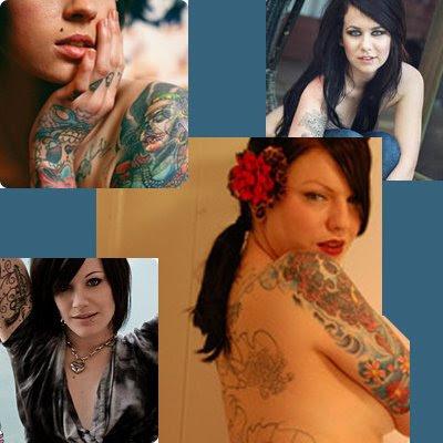 pinups atuais tatuadas