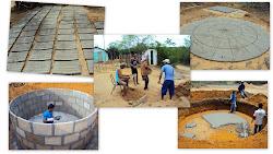Construção de Cisterna de Consumo