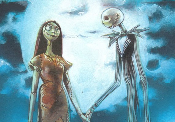 Nightmare Before Christmas ACEO Sketch Card by Jeff Lafferty