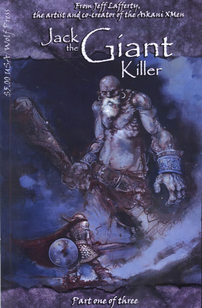 Jack The Giant Killer a Comic Book by Jeff Lafferty