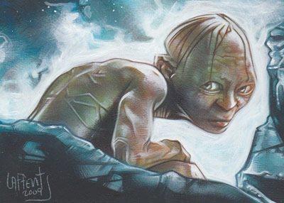 Gollum, Original Art by Jeff Lafferty