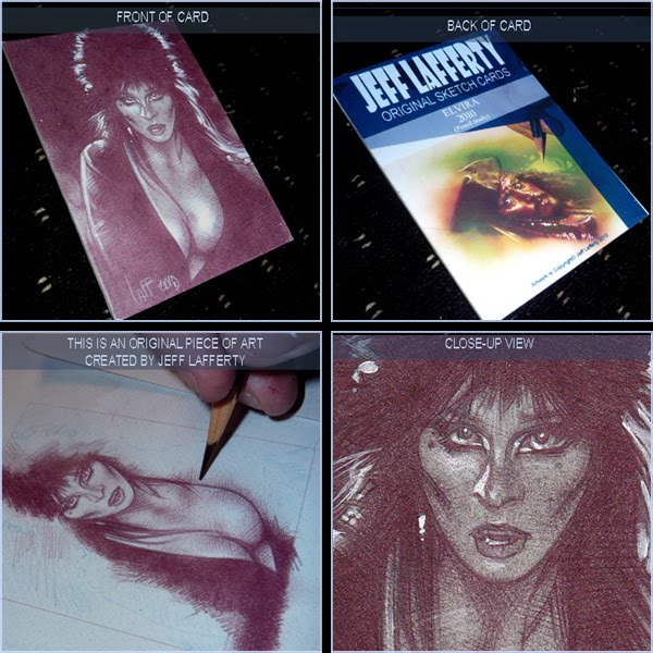 Elvira, original Art by Jeff Lafferty