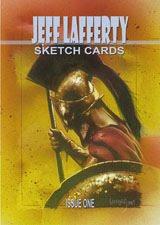 Sketch Cards book by Jeff Lafferty