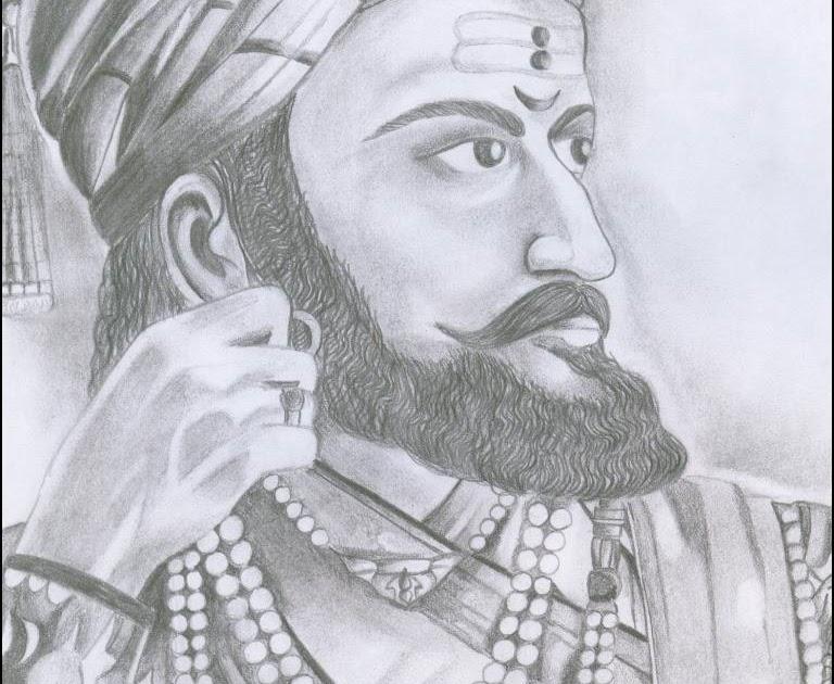 Preetishs sketchbook chattrapati shivaji maharaj