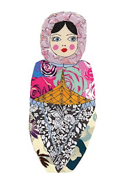 Russian Doll Collage