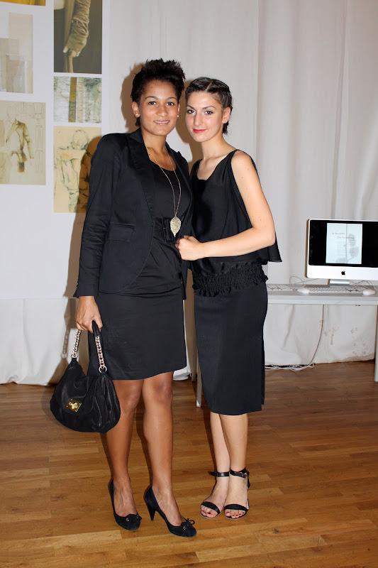 Die besten Gästestyles der Best Sabel Berlin 2010 freundinnen in schwarz