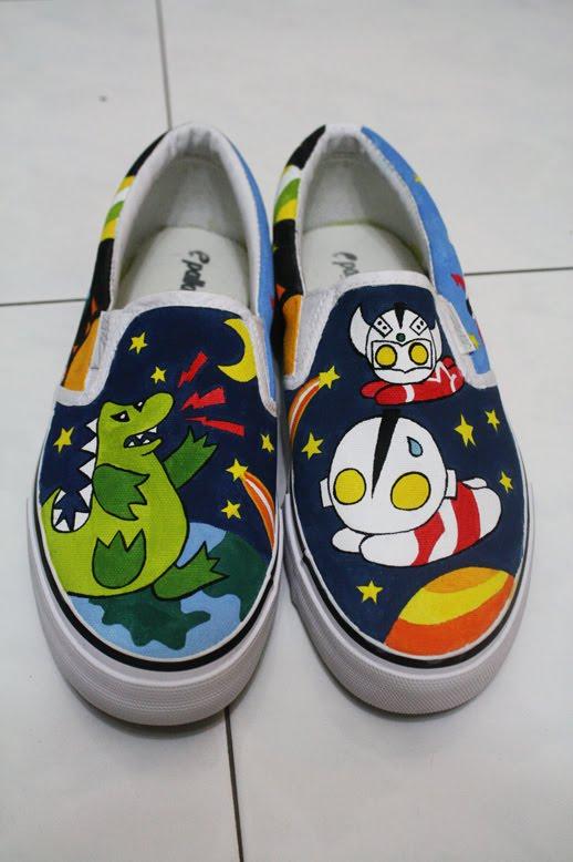 canvas shoes painting. Canvas shoes painting!