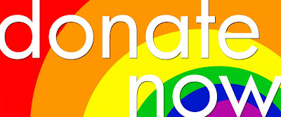 Image result for donate now rainbow