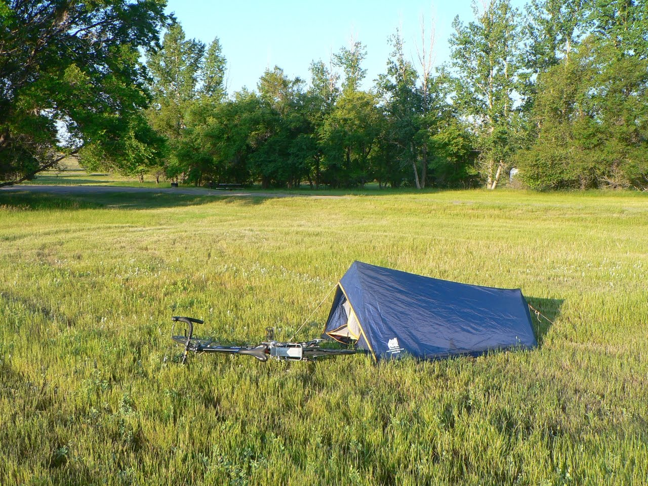 2009 wild c&ing in Canada. & Ultralight bicycle touring: Big things first