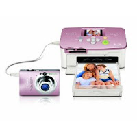 Canon PowerShot SD1100IS 8MP Digital Camera with 3x Optical Image Stabilized Zoom (Pink) with Selphy CP760 Photo Printer (Pink)