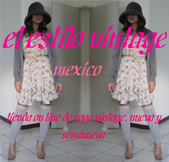estilo vintage Mexico