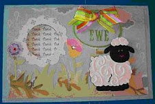 Thank Ewe Card