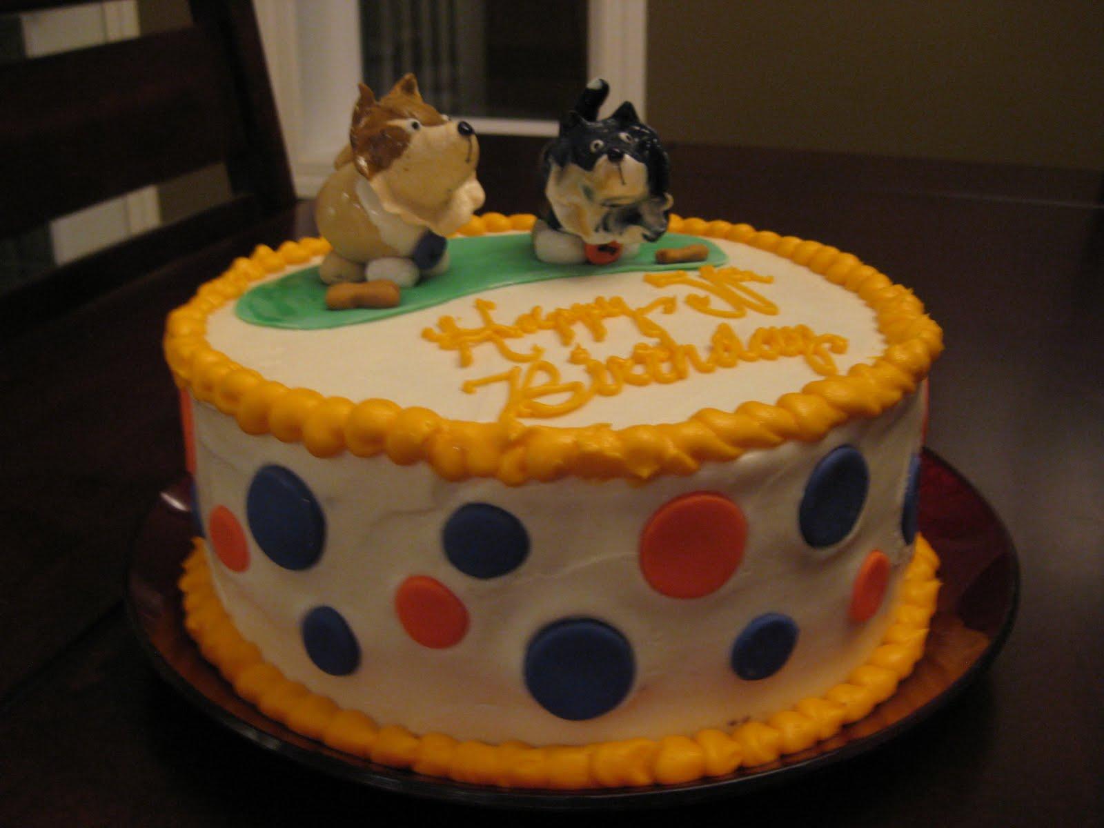 Cakes By Mel: Dog Lover Birthday Cake