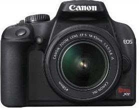 Canon Digital Rebel XS / EOS 1000D - The lightest DSLR to date