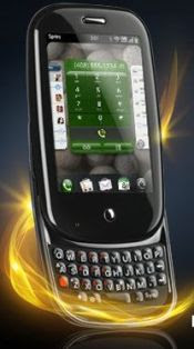 Palm Pre with fire effect. Taken from Sprint Network