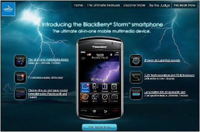 Blackberry Storm is coming to Celcom