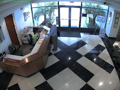 Image captured with Arecont Vision AV8365 - 8 Megapixel 360°Panoramic H.264 IP Camera - 90 degree 1