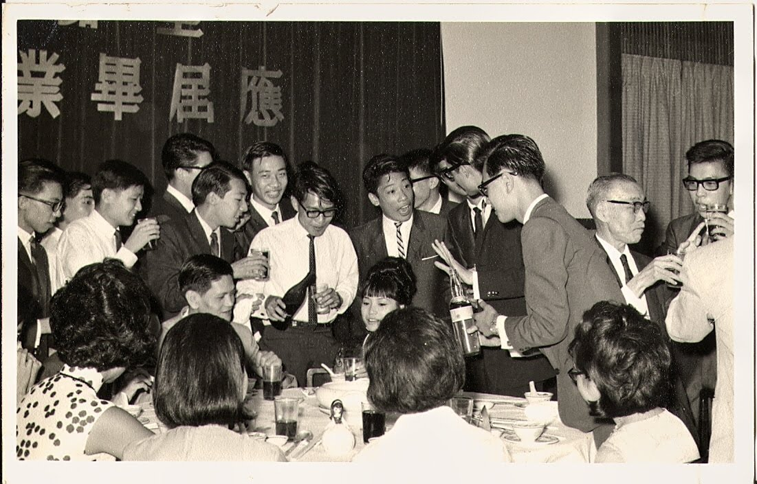 謝師宴 June 21, 1965