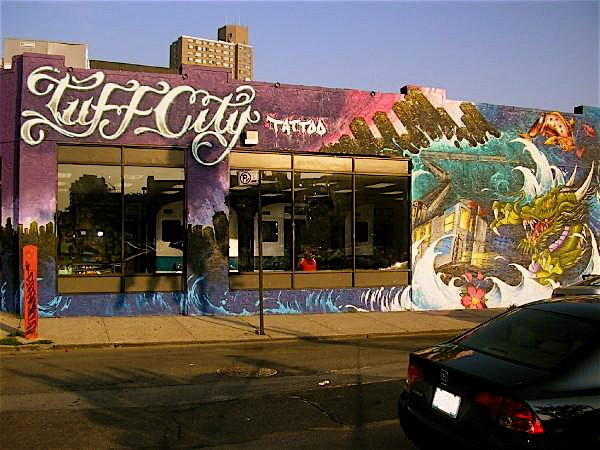 Graffiti Tattoocrazy mind projection weapon