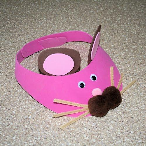 Маска мышка своими руками фото