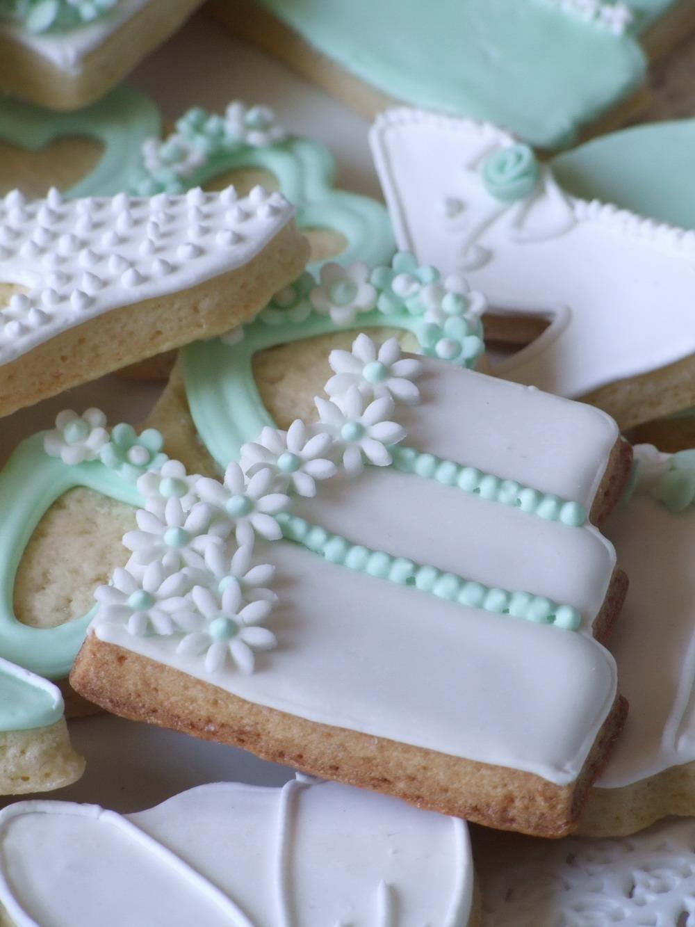 spesso Muccasbronza: Wedding cookies : biscotti e cupcakes per sognare il  MQ85