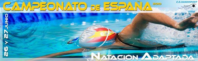 Campeonato de España de Natación Adaptada