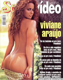 Revista Sexy   Viviane Araújo   2001 05