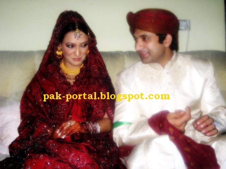 Babar Ali Wife http://www.showbizpakblog.com/2010/04/imran-ali-rizvi-wedding-photos.html