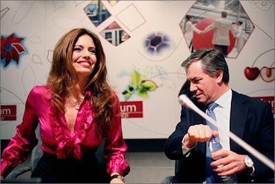 Barbara Guimarães e Armando Vara