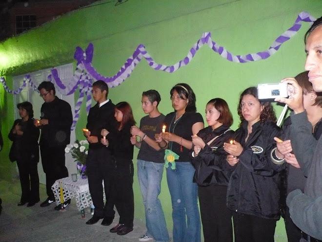 En la procesión del silencio 2008